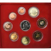 Monaco, Proof Set Euro, Prince Rainier III, 2004, MS(65-70)