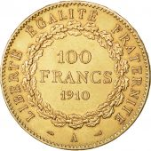 Monnaie, France, 100 Francs, 1910, Paris, TTB+, Or, KM:858, Gadoury:1137a