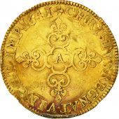 Coin, France, Louis XIII, Écu dor, Ecu dor, 1641, Paris, VF(20-25), Gold