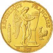 Coin, France, Génie, 100 Francs, 1879, Paris, AU(50-53), Gold, KM:832