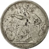 Coin, Switzerland, 5 Francs, 1874, Brussels, VF(20-25), Silver, KM:11