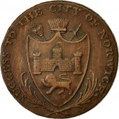 Monnaie, Grande-Bretagne, Succes to the City of Norwich, Halfpenny Token, 1792