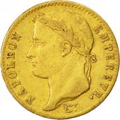 Coin, France, Napoléon I, 20 Francs, 1815, Paris, EF(40-45), Gold, KM:705.1