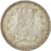 Coin, France, Louis XVIII,  2 Francs, 1823, Paris, AU(55-58)
