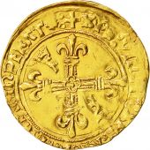 Coin, France, François Ier, Ecu dor, Grenoble, VF(20-25), Gold, Duplessy:783