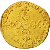 Coin, France, Henri III, Ecu dor, 1578, Paris, EF(40-45), Gold, Duplessy:1121 A