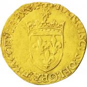 Coin, France, François Ier, Ecu dor, Bordeaux, EF(40-45), Gold, Duplessy:775