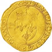 Coin, France, François Ier, Ecu dor, Paris, VF(30-35), Gold, Duplessy:771A