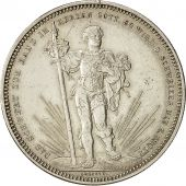 Coin, Switzerland, 5 Francs, 1879, EF(40-45), Silver, KM:S14