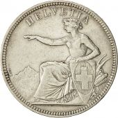 Coin, Switzerland, 5 Francs, 1874, Bern, EF(40-45), Silver, KM:11