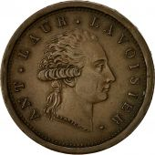 Coin, France, Lavoisier par Gengembre, 2 Francs, AN 8, AU(55-58), Copper