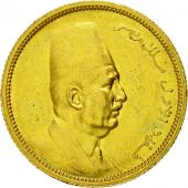 Monnaie, Égypte, Fuad I, 100 Piastres, 1922, British Royal Mint, TTB+, Or