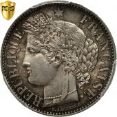 Coin, France, Cérès, 2 Francs, 1851, Paris, PCGS, MS64, Silver, KM:760.1
