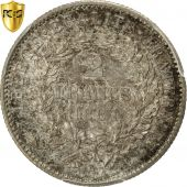 Coin, France, Cérès, 2 Francs, 1881, Paris, PCGS, MS64, Silver, KM:817.1