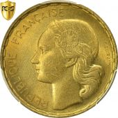 Coin, France, Guiraud, 50 Francs, 1954, Beaumont - Le Roger, PCGS, MS65