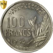 Monnaie, France, Cochet, 100 Francs, 1954, Beaumont - Le Roger, PCGS, MS66