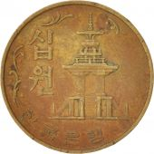 KOREA-SOUTH, 10 Won, 1980, Brass, KM:6a