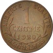 France, Dupuis, Centime, 1920, Paris, Bronze, KM:840, Gadoury:90