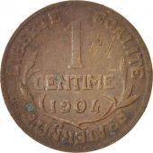 France, Dupuis, Centime, 1904, Paris, Bronze, KM:840, Gadoury:90