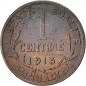France, Dupuis, Centime, 1913, Paris, Bronze, KM:840, Gadoury:90