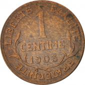 France, Dupuis, Centime, 1903, Paris, Bronze, KM:840, Gadoury:90