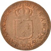 France, Louis XVI, Sol ou sou, Sol, 1781, Lille, Copper, KM:578.16