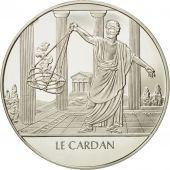 France, Medal, Le cardan, Sciences & Technologies, FDC, Argent