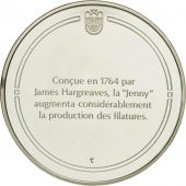 France, Medal, La Jenny, Sciences & Technologies, FDC, Argent