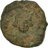 Constans II 641-668, Half Follis, 643-647, Carthage, VF(20-25), Copper