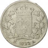 France, Louis XVIII, 2 Francs, 1822, Paris, VF(20-25), Silver