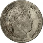 France, Louis-Philippe, Franc, 1836, Paris, EF(40-45), Silver, KM:748.1