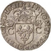 France, Charles IX, Teston, 1563, Rennes, Silver, Sombart:4618