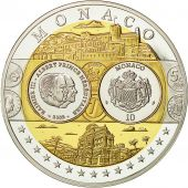 Monaco, Medaille, Europa, FDC, Argent