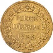 Convention, Essai au module de 27 mm, type conventionnel, 1793, Paris