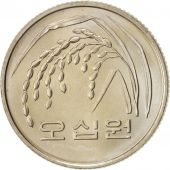 KOREA-SOUTH, 50 Won, 1983, Copper-Nickel-Zinc, KM:34