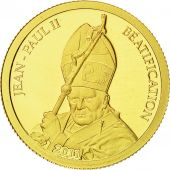 Benin, 1500 Francs CFA, Jean-Paul II, 2011, FDC, Or
