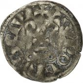 France, Louis IX, Denier Tournois, 1245-1270, TB+, Billon, Duplessy 193