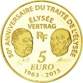 France, 5 Euro, Europa, 2013, BE FDC, Or, KM 2092