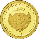 Palau, Dollar, Cristophe Colomb, 2006, FDC, Or, KM:337