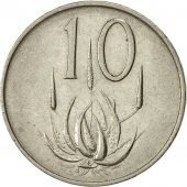 South Africa, 10 Cents, 1965, AU(55-58), Nickel, KM 68.1
