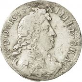 France, Louis XIV, 4 Sols dits « des Traitants », 1676, Paris, Gadoury 103