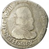 coin, France, Henri III, Teston, 1575, Angers, F(12-15), Silver, Sombart 4654