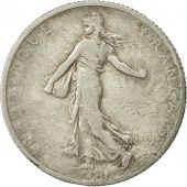 Coin, France, Semeuse, 2 Francs, 1900, Paris, VF(20-25), Silver, KM 845.1