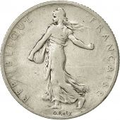 Coin, France, Semeuse, 2 Francs, 1902, Paris, VF(30-35), Silver, KM 845.1