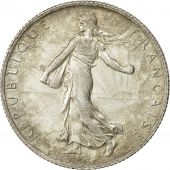 Coin, France, Semeuse, 2 Francs, 1910, Paris, AU(55-58), Silver, KM 845.1