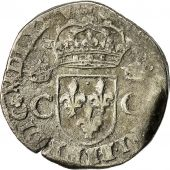 Coin, Henri III, in the name of Charles IX, Teston, 1575, Nantes, Sombart 4634