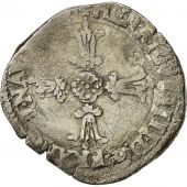 Coin, France, Henri IV, 1/4 Ecu, Angers, VF(30-35), Silver, Sombart 4686