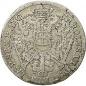 Coin, German States, HAMBURG, 8 Schilling, 1/2 Mark, 1726, AU(50-53), Silver