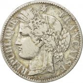 Coin, France, Cérès, 2 Francs, 1873, Paris, EF(40-45), Silver, KM:817.1