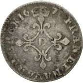 Coin, France, Louis XIV, 4 Sols dits « des Traitants », 1679, Vimy, Gadoury 103